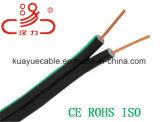 Drop Wire 1X2X0.5cu + cabo de aço cabo de telefone / cabo de computador / cabo de dados / cabo de comunicação / conector / cabo de áudio