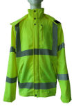 Coverall одеяния Workwear ткани работы куртки высокого качества зеленый Nylon