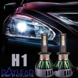 H1 Low Beam 4800lm 6000k Vehicle Car LED Head Lamp pour Audi / BMW / Benz