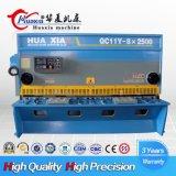 Macchina di taglio QC11y-20X3200 millimetro della ghigliottina idraulica del piatto
