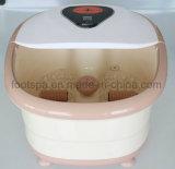 SPA de pés de aquecimento automático massajador com luz vermelha mm-8858