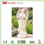 De grote Standbeelden van de Engel Polyresin voor de Decoratie van het Gazon en van de Tuin