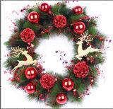 Colorido y todos los tipos de decoración de vacaciones Artificial Christmas Wreath