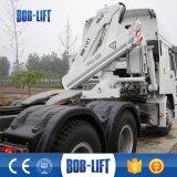 소형 트럭에 의하여 거치되는 기중기, 기중기 트럭 기중기, 유압 너클 붐 트럭 기중기