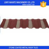 Telhas de telhado revestidas de Milão do metal da areia dos materiais de telhadura da promessa da qualidade