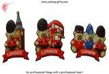 Magnete di gomma del frigorifero di figura dell'orso per i regali (YH-FM099)