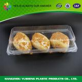De duidelijke Container van het Voedsel van het Huisdier Plastic met Deksel