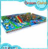 Kind-Innenhandelsspielplatz-Gerät mit dem rostfreien Plättchen gebildet vom PET Blatt für Verkauf