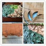 Bladeren van de Camouflage van de Doek van het leger de Openlucht Militaire Netto 3D