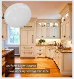 Surperキャビネット、家具のための明るいLEDの円形のパックライト