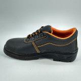 Chaussures de sûreté bon marché en cuir d'unité centrale de caoutchouc nitrile d'Utex Ufe036