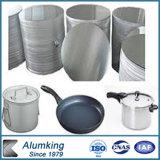 círculo de aluminio laminado en caliente 1060 1100 3003 para los utensilios de cocinar