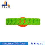 Wristband esperto personalizado do silicone de RFID para patrulhas da água