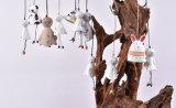 Kundenspezifische verschiedene Zeichentrickfilm-Figur kreative keramische kleine Bell aufbereiten