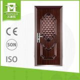 Diseños indios de la puerta del hierro del tubo principal de la casa con precio razonable