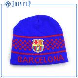 Шлем шлема зимы шерстей холодный с изготовленный на заказ логосом