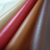 El PVC imitación de vinilo tejido de piel sintética de envoltura