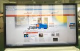 65 Zoll an der Wand befestigt alle auf einem Infrarot- und kapazitiven Touch Screen für Monitor
