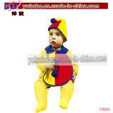 Partei-Feld-Baby-Kleid-purpurrotes Baby-Tuch (C5048)