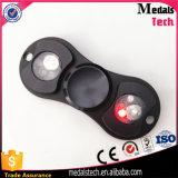 2017 Popular Custom Fidget Spinner Toy Custom Hand Spinner Button para 606 Ceramic Bearing High Quality Finger Spinner