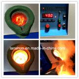 Equipo de fusión de alta frecuencia 15kw del hierro de desecho de la inducción