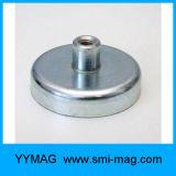 Forte NdFeB Neodymium Holding Pot Magnet com fio interno / fio fêmea
