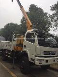 Camion Dongfeng LHD Rhd monté avec camion grue à camion