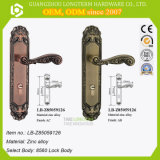 Doppio perno di portello parteggiato interno della serratura per la camera da letto