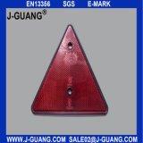 차 트럭 트레일러 삼각형 반사체 안전 경고 널 후방 빛 (JG-J-19)
