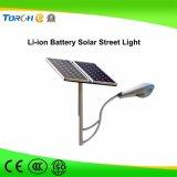 garantía larga de calle de 30-60W LED de la luz de la alta calidad solar del precio competitivo