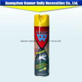 Formule chimique du jet 400ml d'insecticide d'aérosol