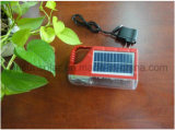3.7V 3000mh Portable Rechargeable Emergency LED Solar Lanterne