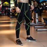 Pantaloni di sport delle calzamaglia dello Spandex di Legging di compressione degli uomini