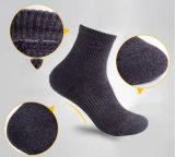 Fachmann-kletternde silberne Faser-Baumwollsocken für Sport-Männer