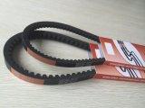 Klassische und schmale eingewickelte Gummi mit einem Band versehene V-Gürtel