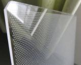 Acrílico LED LGP (placa guía de luz) para la caja de luz delgada LED