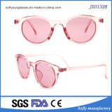 Venda por grosso de Designer Fack Meninas Rose última moda óculos coloridos