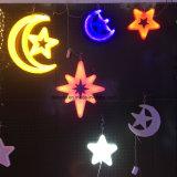 Indicatore luminoso di notte di natale dell'indicatore luminoso della stella del LED per la decorazione