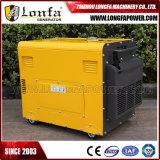 5000W 7kVA Luft abgekühltes fehlerfreies Beweis-einphasig-Dieselgenerator-Set