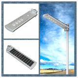 Hot Sale Motion Sensors Éclairage extérieur Éclairage extérieur Tout en un Panneau solaire Lampadaire solaire LED à télécommande
