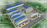 Construction légère préfabriquée en acier d'usine d'entrepôt d'acier de construction