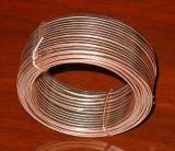 Costura de alambre galvanizado caja plana