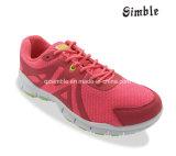 Le haut de maille folâtre les chaussures de course pour l'espadrille de chaussures de confort de Man&Women
