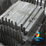 Aluminiumanoden, die Gerät für Offshoretechnik-und Hafen-Zellen ausstatten
