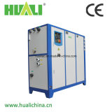 Refrigerador de refrigeração do abastecimento de água do rolo de Huali ar industrial para a água refrigerando