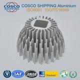 Het concurrerende Profiel van het Aluminium voor Heatsink met het Natuurlijke Anodiseren en het Machinaal bewerken
