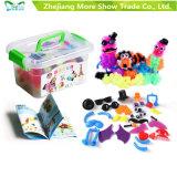 Le festival éducatif de Noël de puzzle méga du paquet DIY badine des jouets de bille d'épine de cadeau d'anniversaire