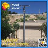 Lámpara solar integrada al aire libre del jardín de la calle del LED con el panel solar