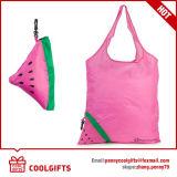 Umweltfreundliche Nylonwassermelone-faltende Einkaufstasche für Weihnachtsgeschenk