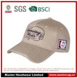 Gorra de béisbol 100% algodón bordado con logotipo de ala plegable